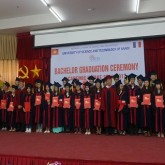 Bachelor Graduation Ceremony of the intake 2014-2017