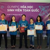 USTH team shines at the National Chemistry Olympiad 2018
