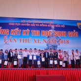USTH sponsors talented high school student contest in Nam Dinh
