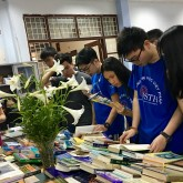 USTH participates books exhibition by VAST