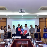 USTH, Institute of Mathematics sign cooperation agreement