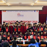 USTH students honoured at 2018 Graduation Ceremony