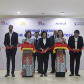 Opening ceremony of the Aeronautical Laboratory