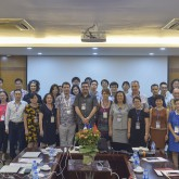 Workshop on the first smart garden concept in Vietnam
