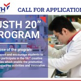 "Announcement on ""USTH-20"" Program of 2021"