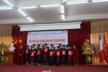 Graduation ceremony for the intake 2014 - 2017