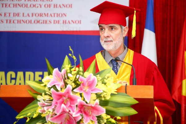 Prof. Dr. Patrick Boiron – Newly Elected Rector of USTH